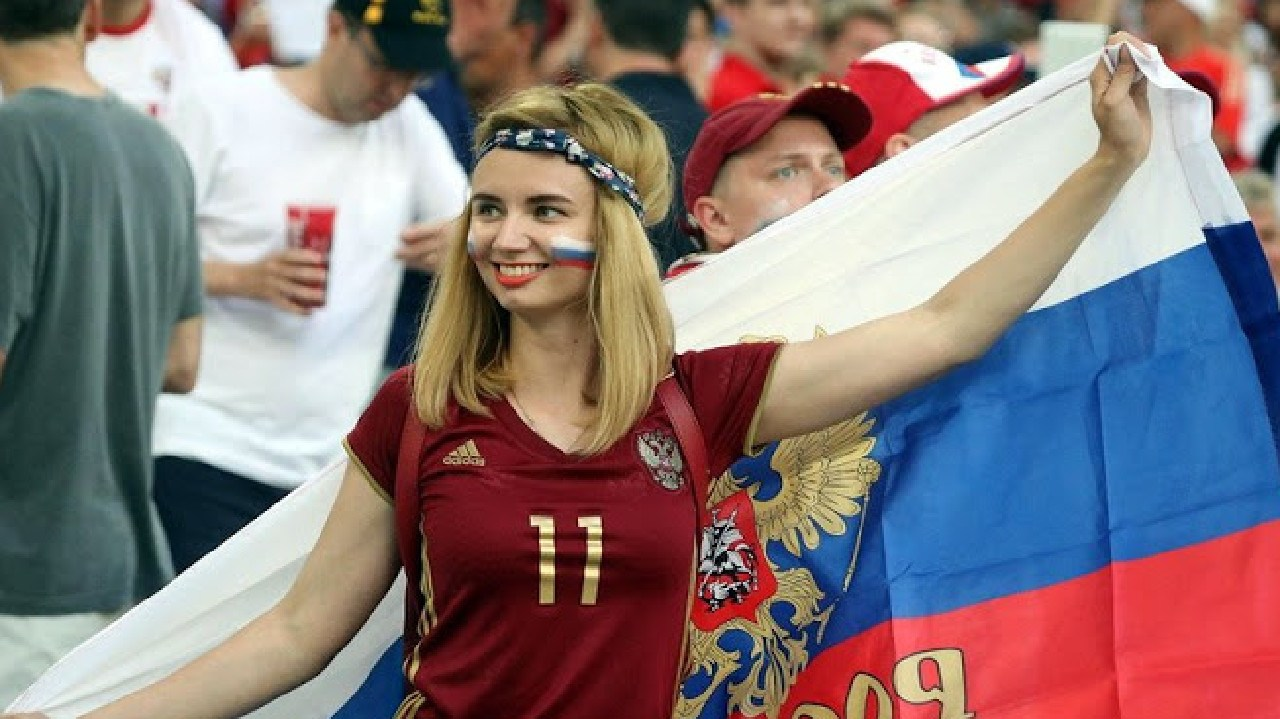 Russian football fans have been urged to not be too friendly with World Cup visitors.