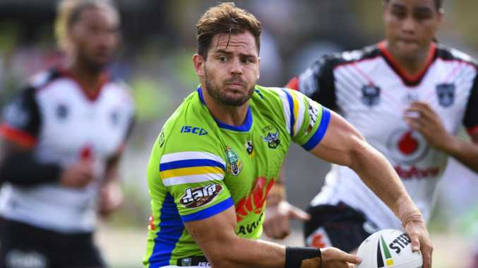 Aidan Sezer has settled his future with the Raiders, opting to extend his stay with club until 2020. Picture: AAP