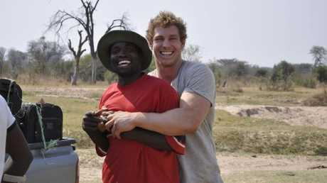 David Pocock working with not for profit organisation Eightytwenty in Zimbabwe.