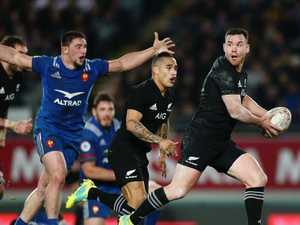 All Blacks branded cheats after France card row