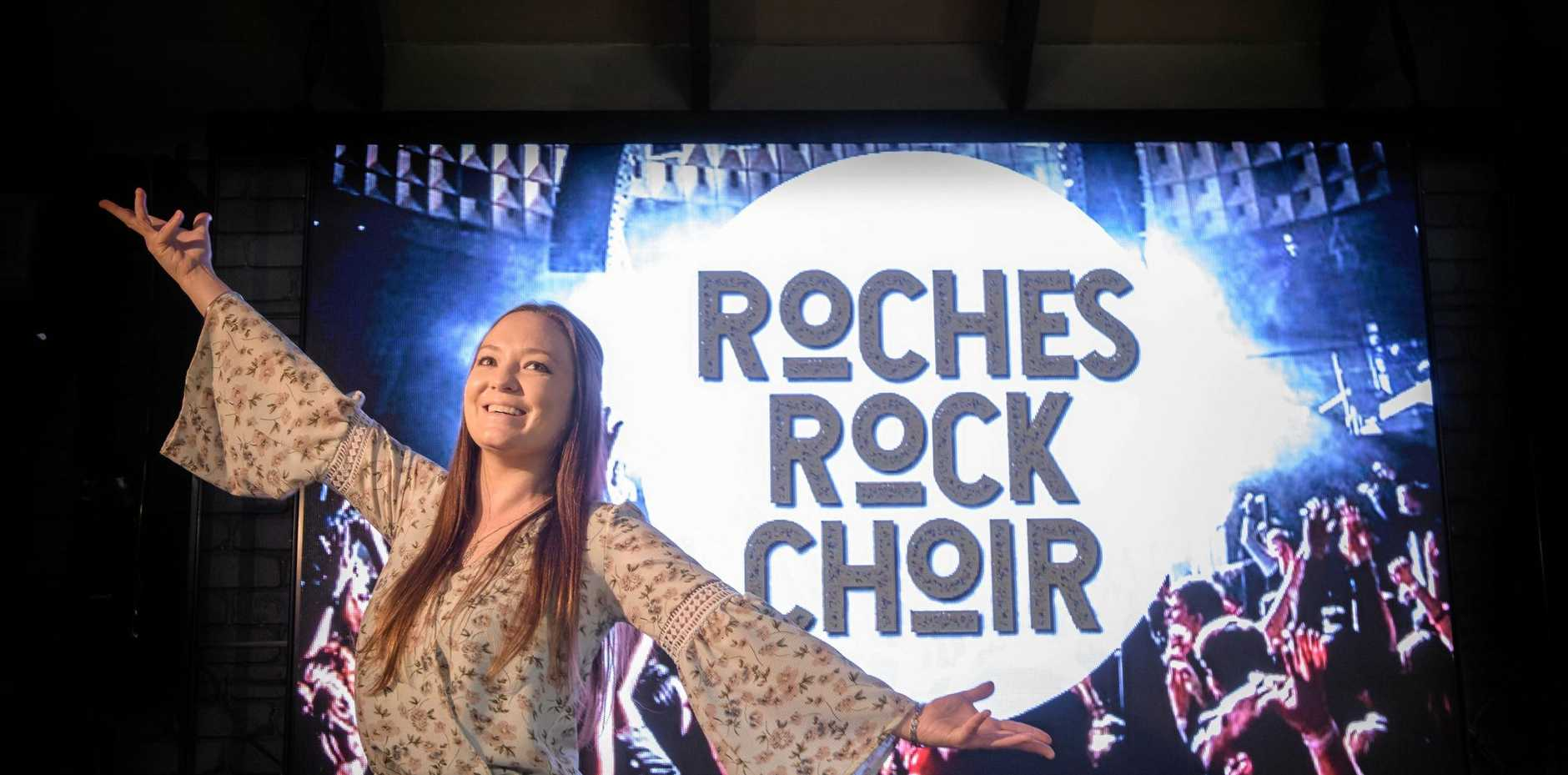 CHOIR LEADER: Simone Smith is looking to lead the Clarence in some good old fashion pub rock in the new Roches Rock Choir.