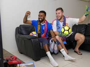 Bundy footy fans lace up for FIFA World Cup