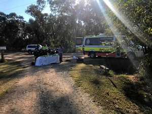 UPDATE: 56 y/o airlifted after found pinned under quad bike