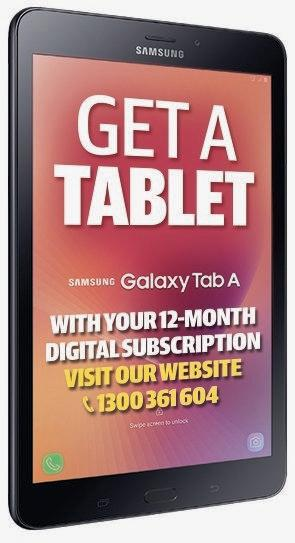 Subscribe to The Gympie Times and catch up on all your local news, photos and galleries 24/7 on your Samsung tablet.