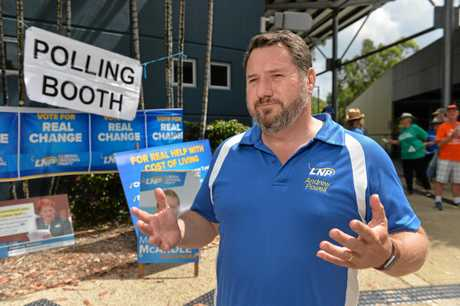 Glasshouse MP Andrew Powell said he's proud of the Coast LNP team, despite criticism from councillors.