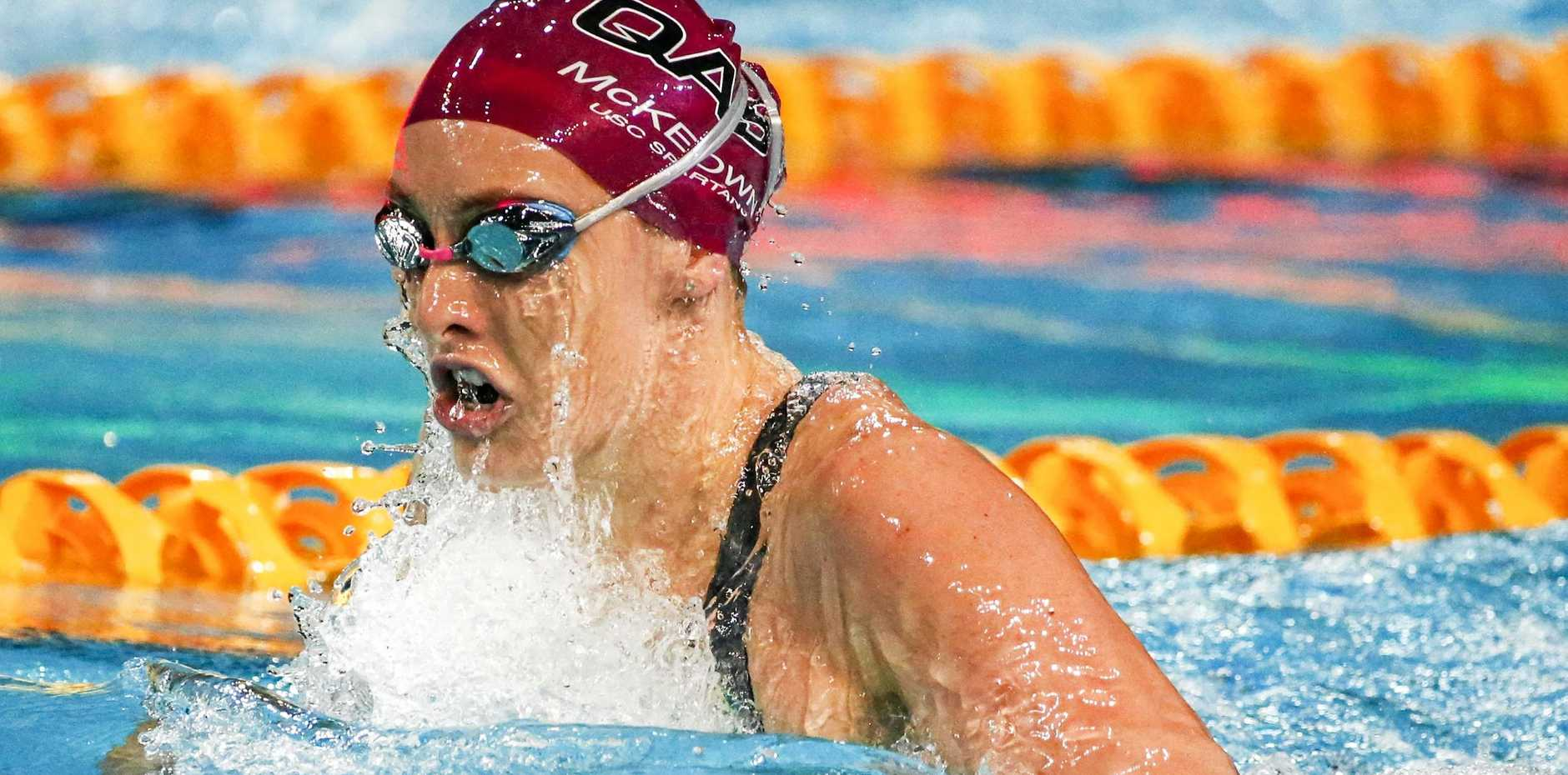 CONTENDER: Sunshine Coast's Taylor McKeown is expected to be a threat at the world championships.