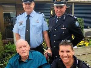 State and national honours for former city cop