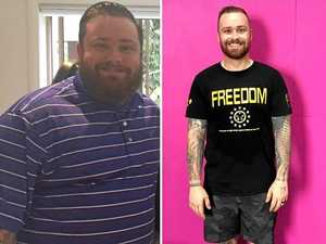 Weight loss machine loses 43kg but he's not done yet