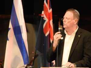 Zionist leader Dr Ron Weiser on the Sunshine Coast