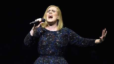 Adele has used her concerts as a forum to raise awareness of the plight of those affected by the Grenfell Tower fire. Picture: Getty