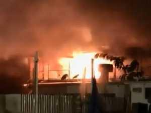 Fire destroys landmark Queensland pub