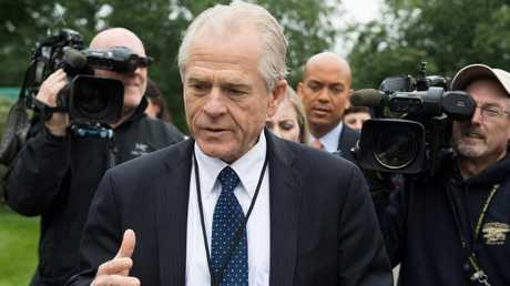 White House Director of Trade Policy Peter Navarro. Picture: AFP