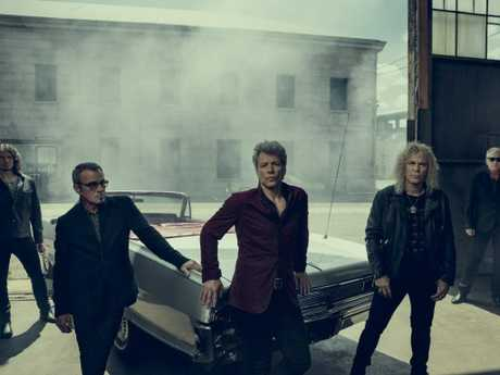 Bon Jovi will play one-night-only in four Australian cities. Sorry Perth. Picture: Supplied.