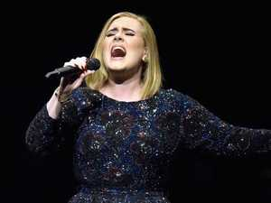 Adele attends Grenfell Tower tribute