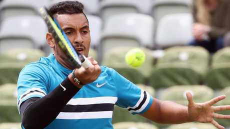 Nick Kyrgios will next play Feliciano Lopez.