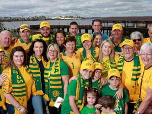 Socceroo digs deep to get family and friends to Russia