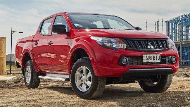 Mitsubishi Triton GLX+: No-frills dual-cab 4WD auto for $34,990