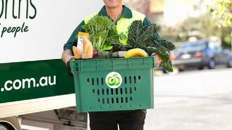 Woolies will charge a $3.50 'crate to bench' delivery fee.
