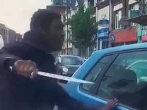 Zombie knife terror in London