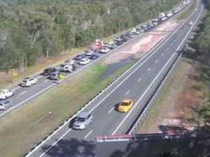 Five hospitalised after serious Bruce Hwy crash