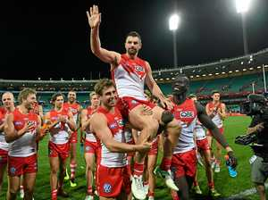 Swans coach dismisses premiership hype after win over Eagles
