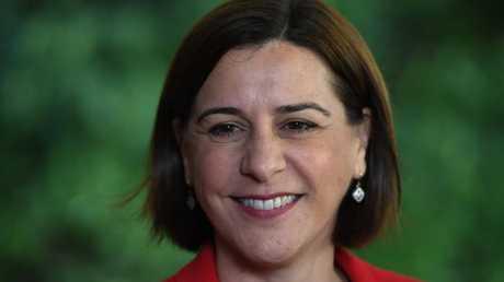 Queensland LNP leader Deb Frecklington. (AAP Image/Dan Peled)