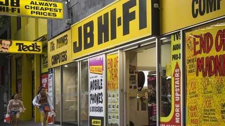"JB Hi-Fi was established in Melbourne by John ""JB"" Barbuto in 1974."