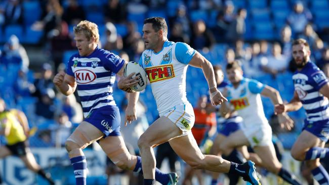 Michael Gordon was brilliant for the away side at Belmore. (Photo by Jason McCawley/Getty Images)