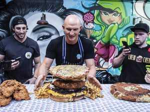 Hunger games: Pro eaters devour 16kg of food