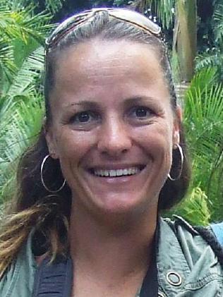 A Facebook picture of missing woman Sandrine Jourdan