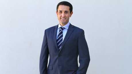 LNP member for Broadwater David Crisafulli