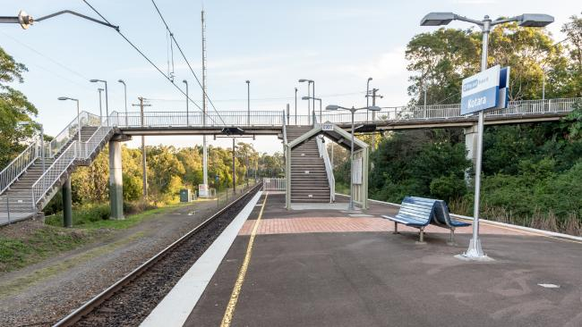 The young girl was allegedly released at Kotara Train Station after a horrific five hour ordeal. Picture: Monique Harmer.