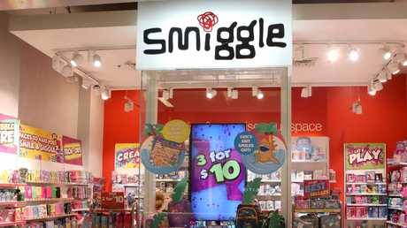 Smiggle was founded in 2002 by Stephen Mueurs and Peter Pausewang, who wanted to sell fun and fashionable stationery for teenagers. Picture: AAP Image/Daniel Munoz