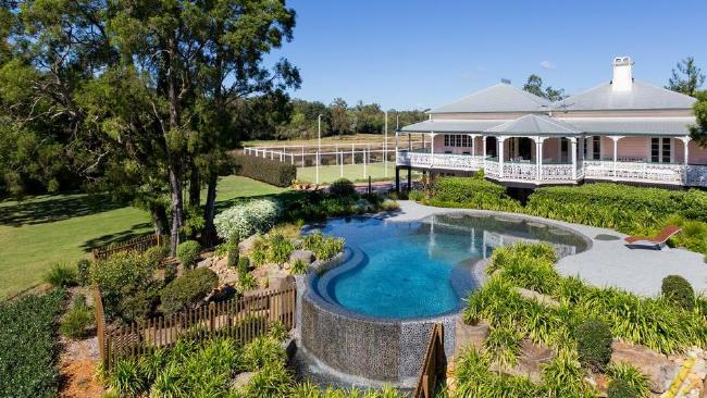 Netball star Laura Geitz has just bought this property in Brookfield.
