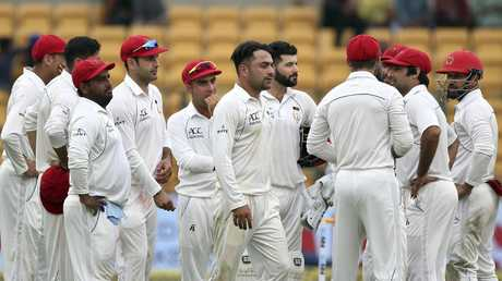 Afghanistan bowled India out for 474.