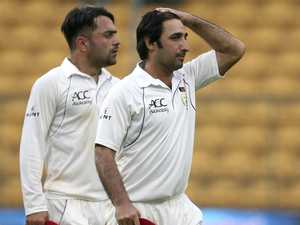 Afghanistan demolished in two days in its maiden Test