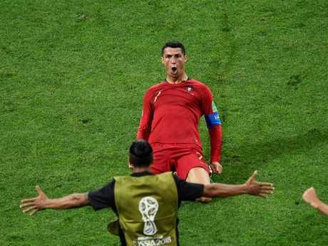 Cristiano Ronaldo has set the World Cup alight.