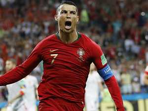 Freak Ronaldo sends World Cup berserk on day two