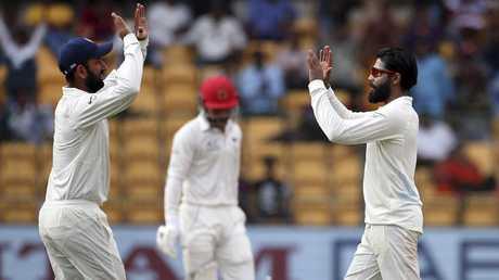 Ravindra Jadeja took 4-27 in the second innings.