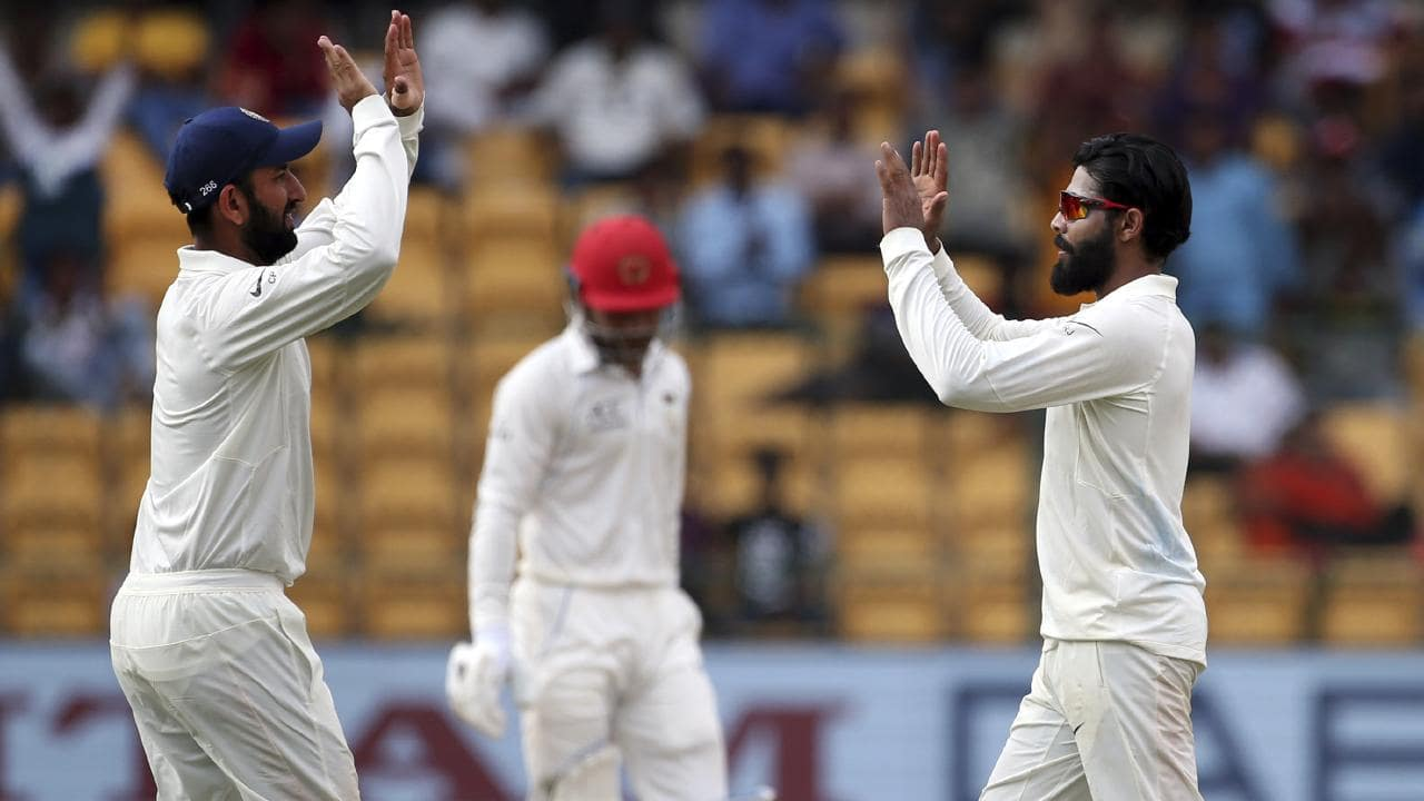 Ravindra Jadeja took 4-27 in the second innings.