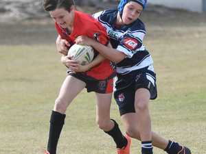 Tacle on West Panthers U12