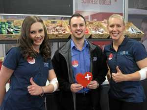 City fitness centre answers call for blood donors
