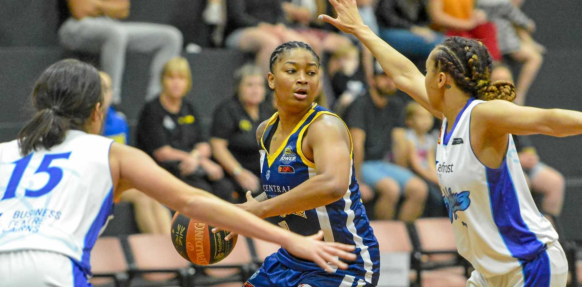 Power's Tanaya Atkinson impressed and is getting better and better.