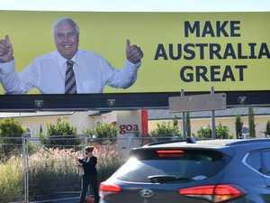 Palmer confirms return to politics