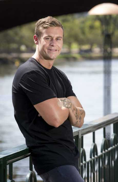 Married At First Sight contestant Ryan Gallagher. Picture: Ian Currie