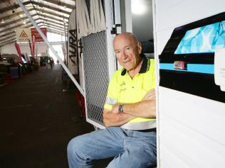 Caravanning Queensland chief executive Ron Chapman. Picture: AAP/ Ric Frearson