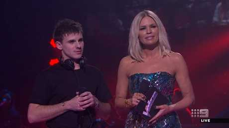 Sam Perry is this year's winner. Picture: Channel 9
