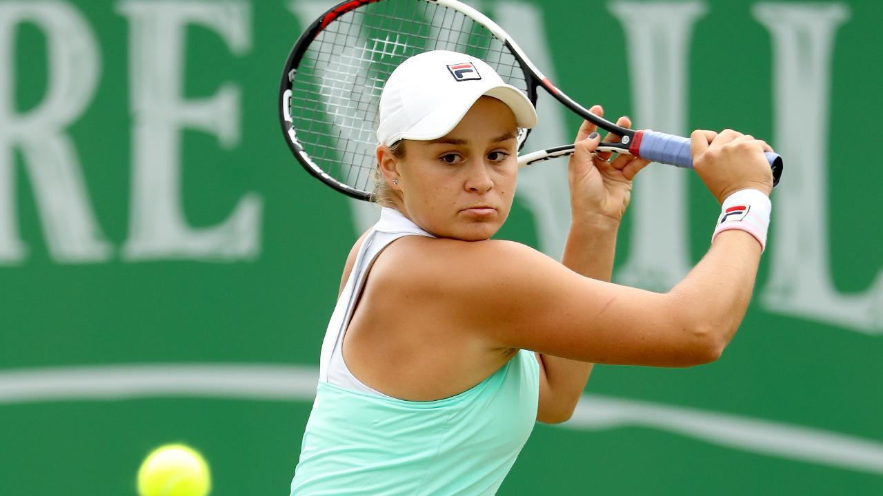 Ashleigh Barty has been in imperious form in Nottingham.