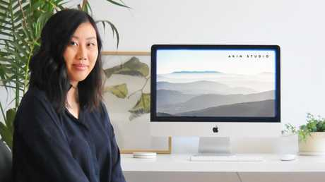 Digital marketing specialist Julie Ta now has the freedom to work while travelling since launching her own business. Picture: Supplied