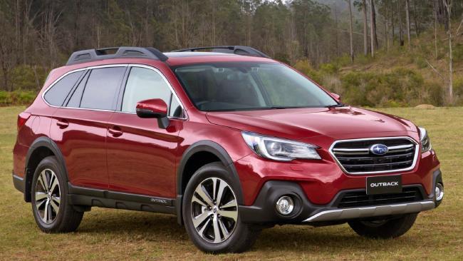 2018 Subaru Outback 2.5i Premium: Occupants are comfortable